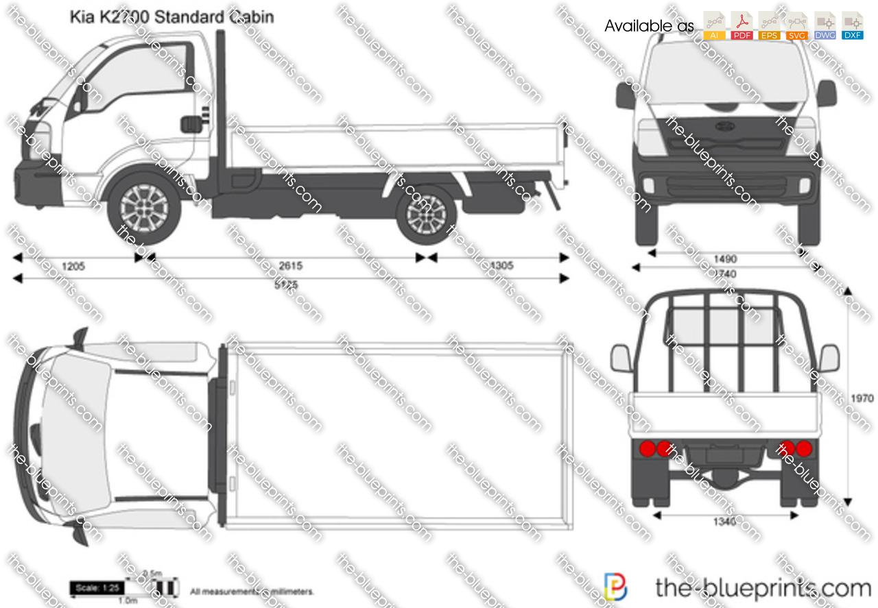 Kia K2700 Standard Cabin 2015