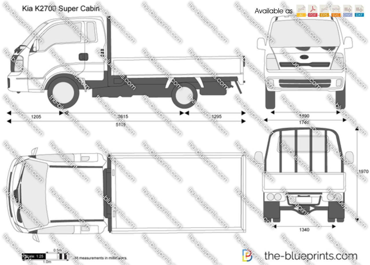 Kia K2700 Super Cabin 2013