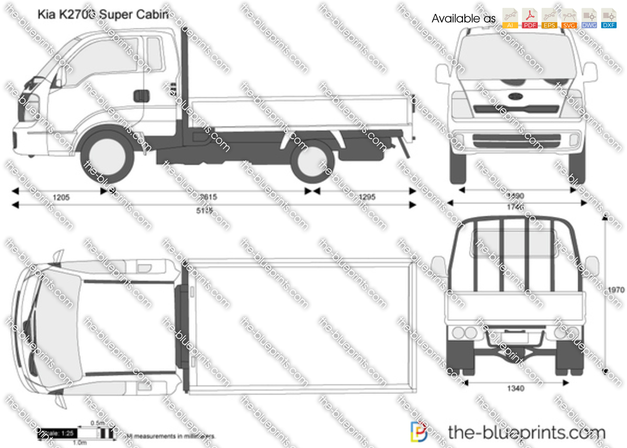 Kia K2700 Super Cabin 2017
