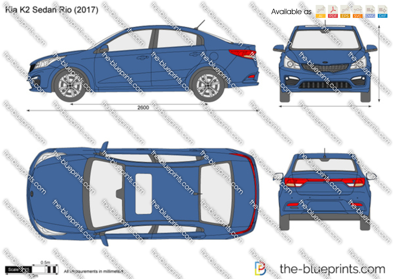 Kia K2 Sedan Rio 2018