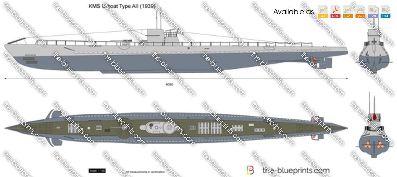 KMS U-boat Type AII