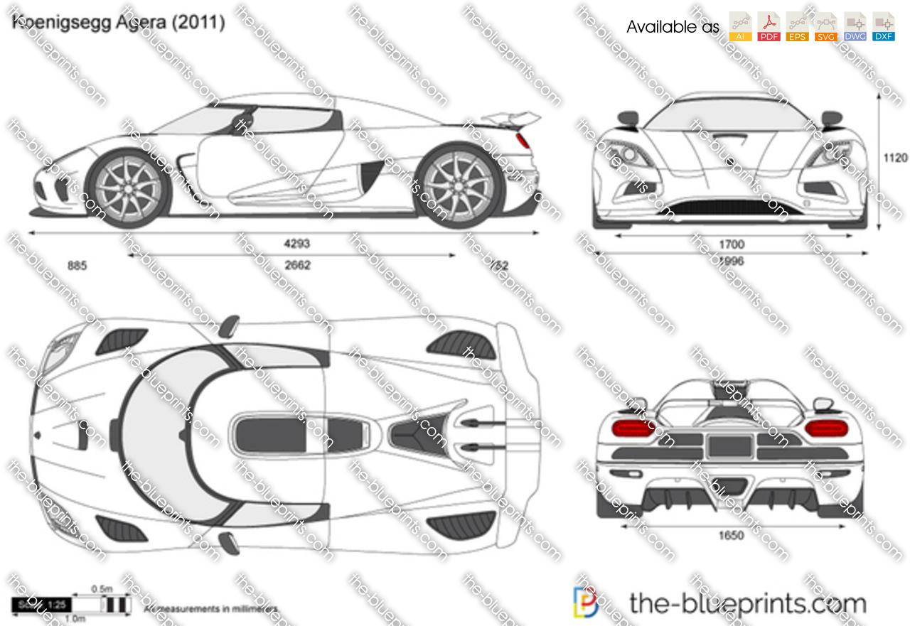 The Blueprints Com Vector Drawing Koenigsegg Agera