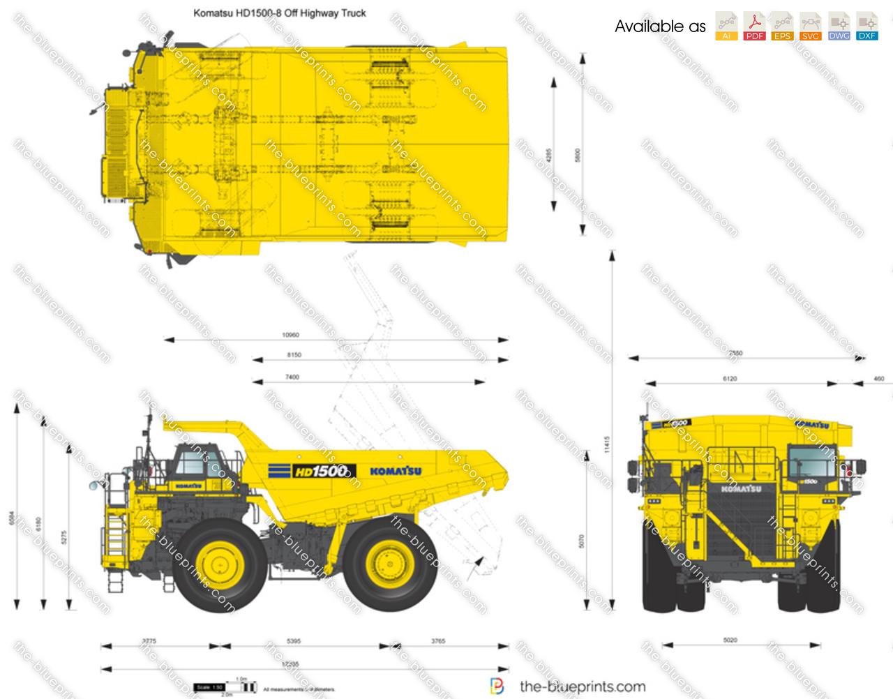 Komatsu HD1500-8 Off Highway Truck