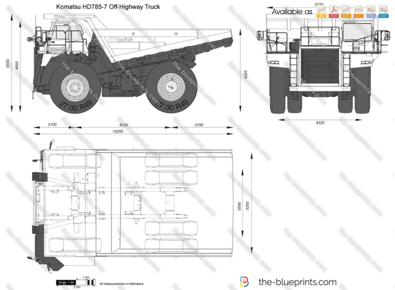 Komatsu HD785-7 Off-Highway Truck