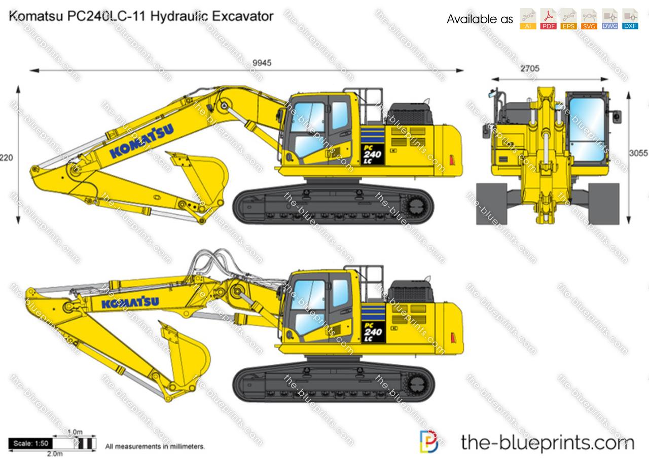 Komatsu PC240LC-11 Hydraulic Excavator