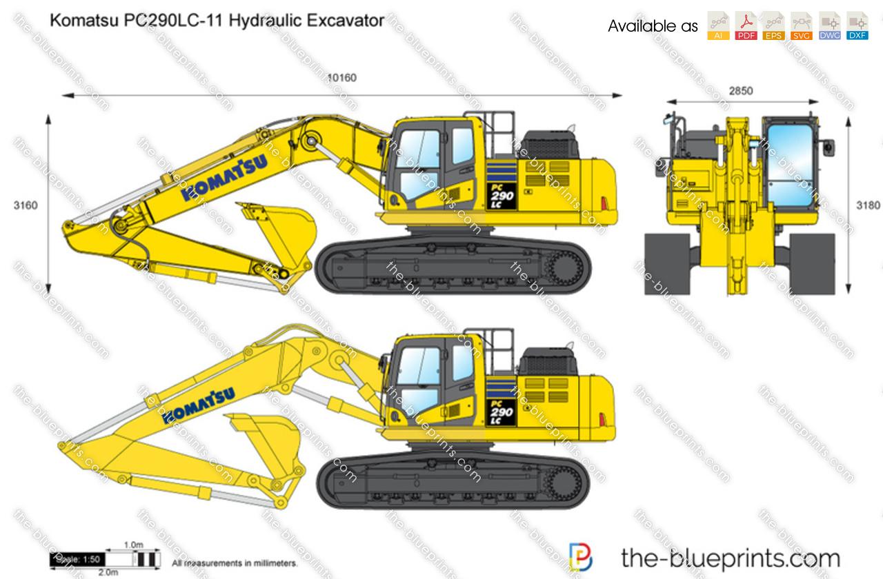 Komatsu PC290LC-11 Hydraulic Excavator