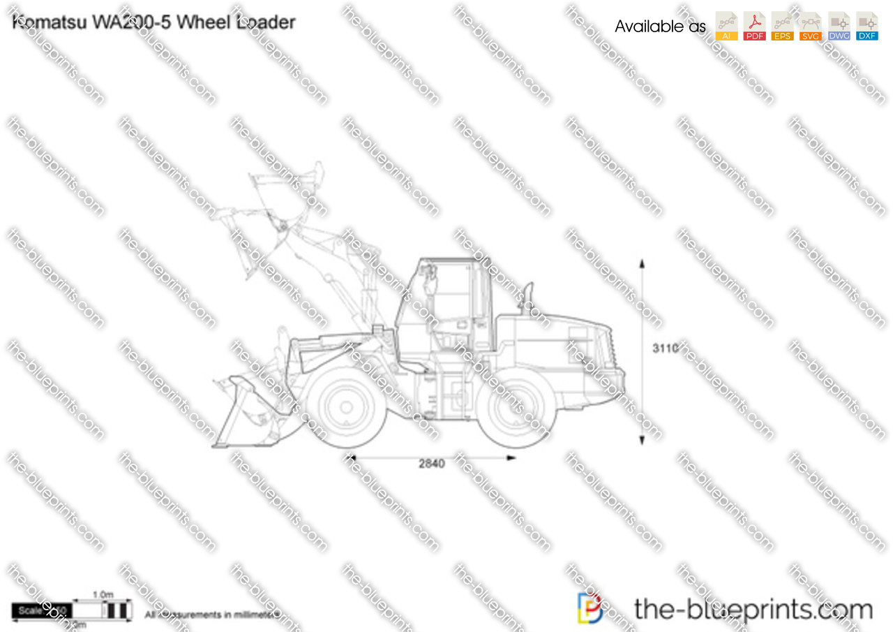 Komatsu WA200-5 Wheel Loader