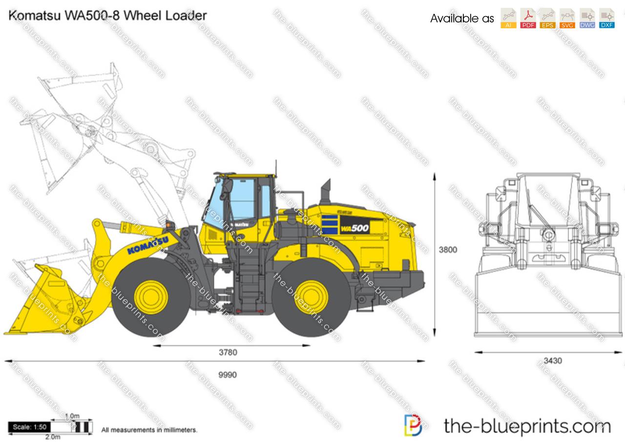 Komatsu WA500-8 Wheel Loader
