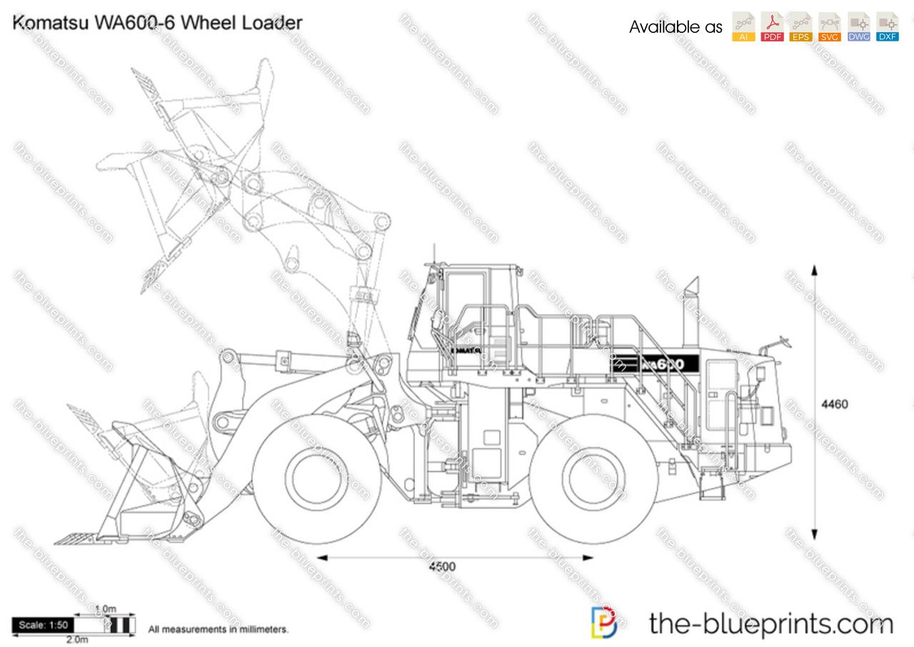 Komatsu WA600-6 Wheel Loader
