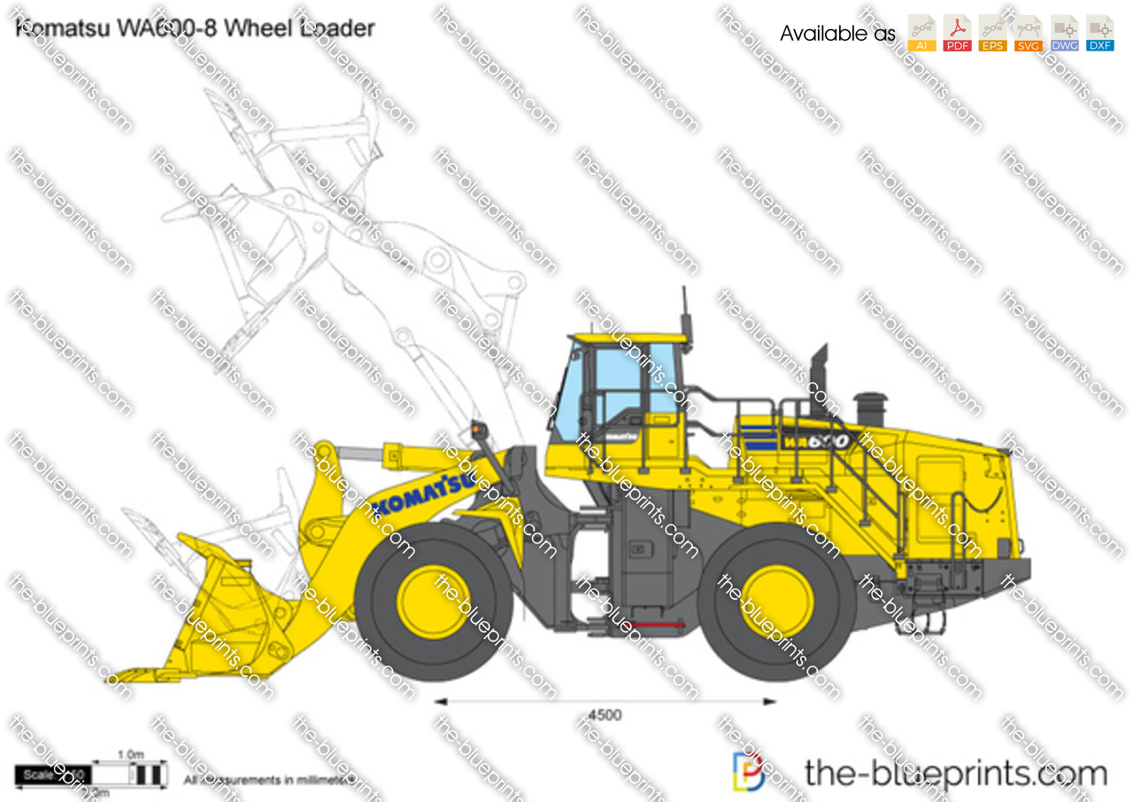 Komatsu WA600-8 Wheel Loader