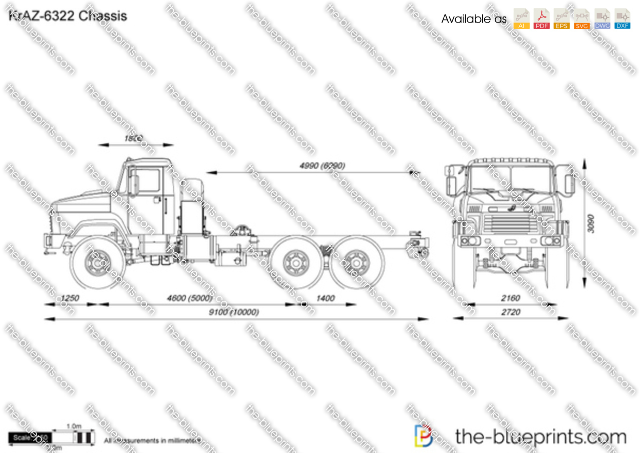 KrAZ-6322 Chassis