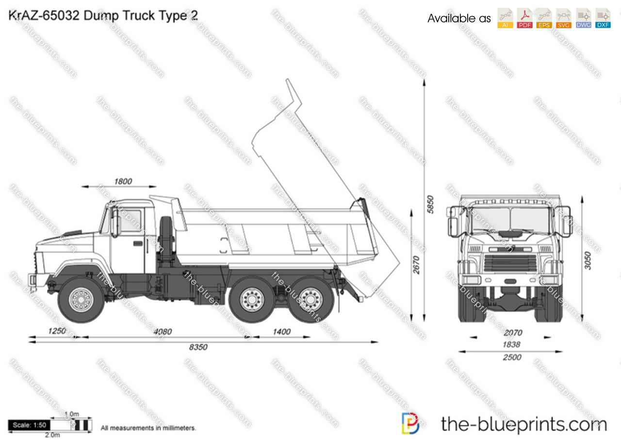 KrAZ-65032 Dump Truck Type 2