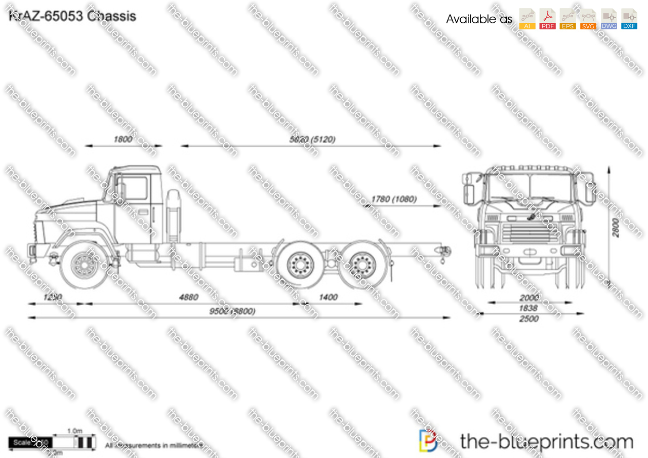 KrAZ-65053 Chassis