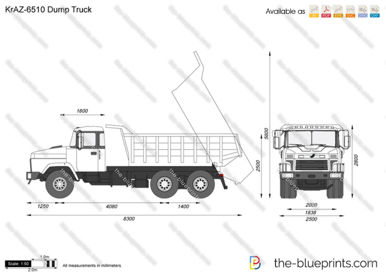 KrAZ-6510 Dump Truck