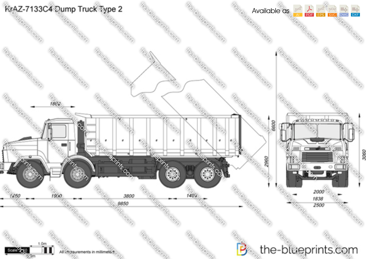 10 wheel dump truck dimensions pictures to pin on