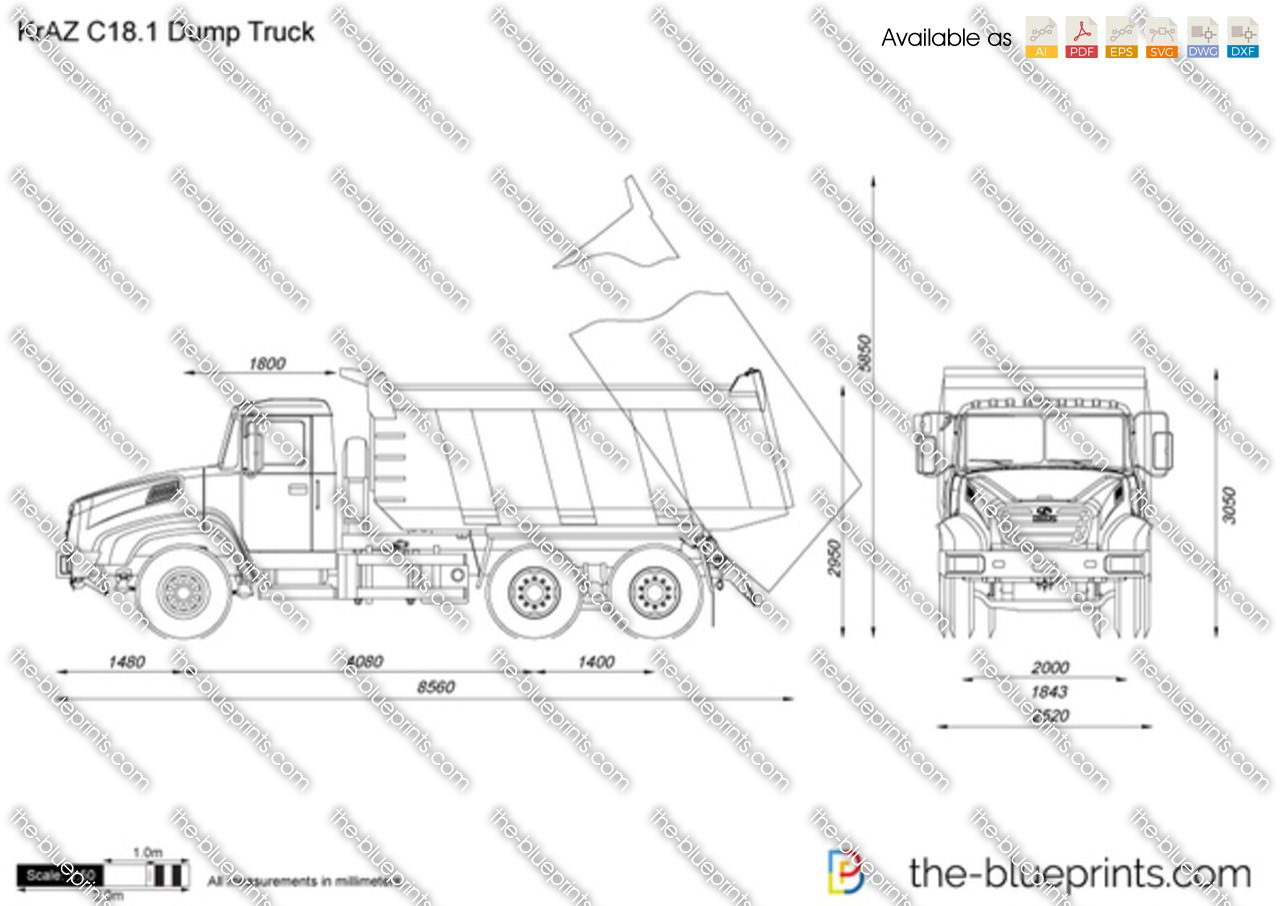 KrAZ C18.1 Dump Truck
