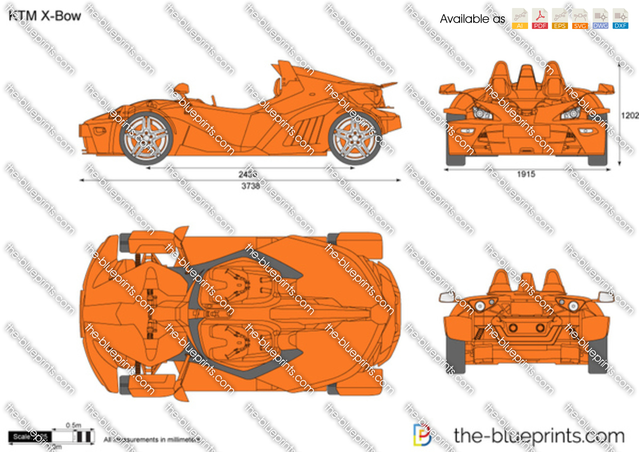 Ktm x bow vector drawing ktm x bow malvernweather Gallery
