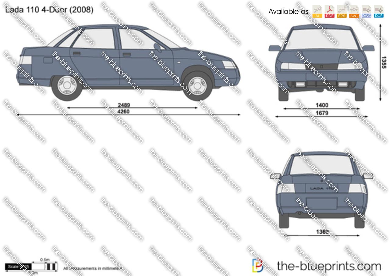 Lada 110 4-Door 1996