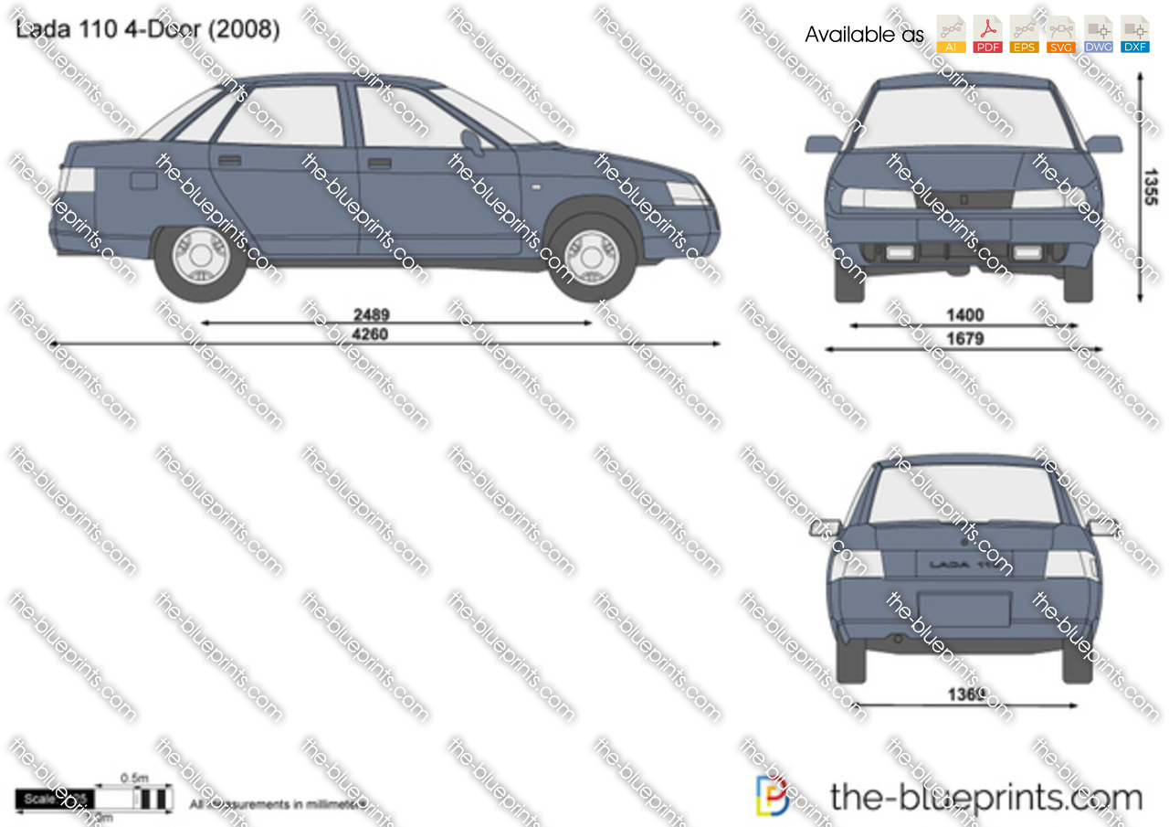 Lada 110 4-Door 2000