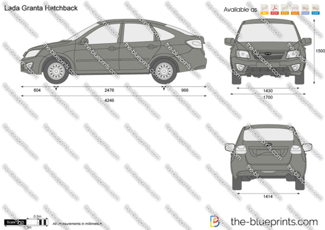 Lada Granta Hatchback 2014