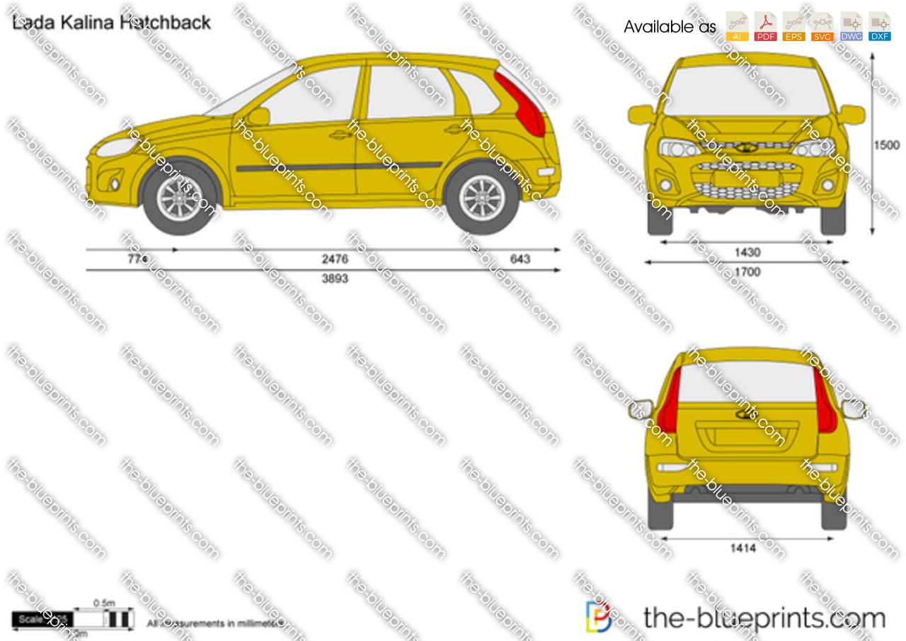 Lada Kalina 2 Hatchback 2014