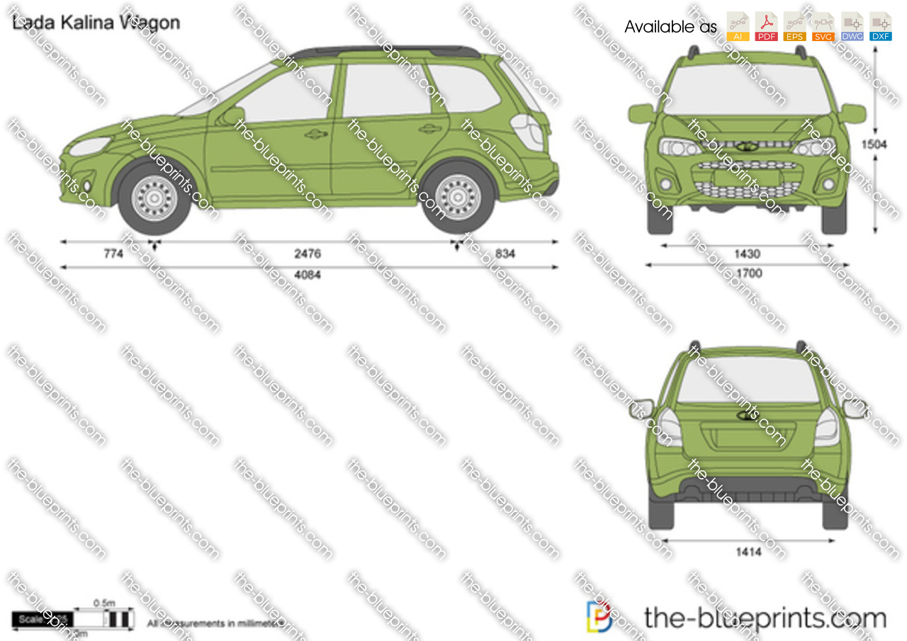 Lada Kalina 2 Wagon 2015