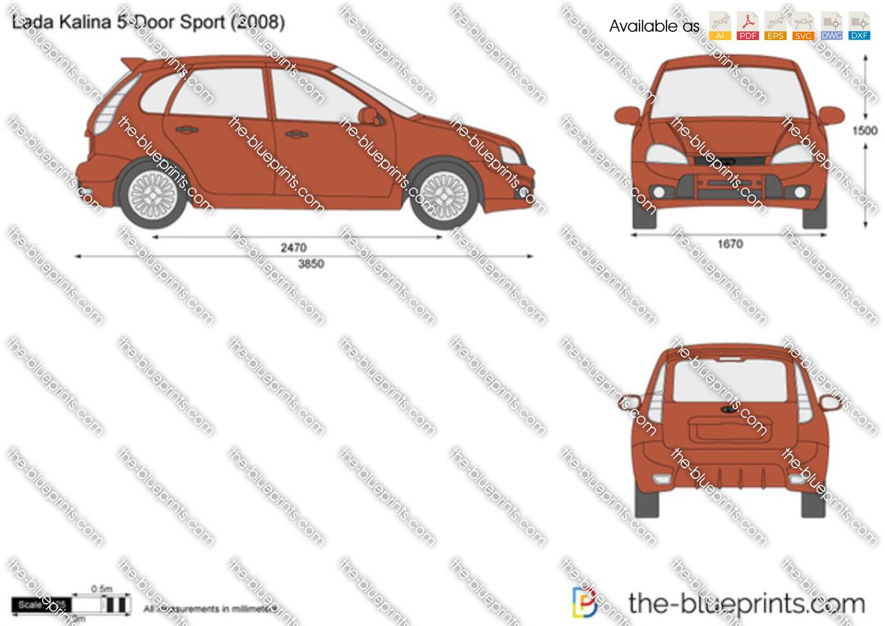 Lada Kalina 5-Door Sport 2009
