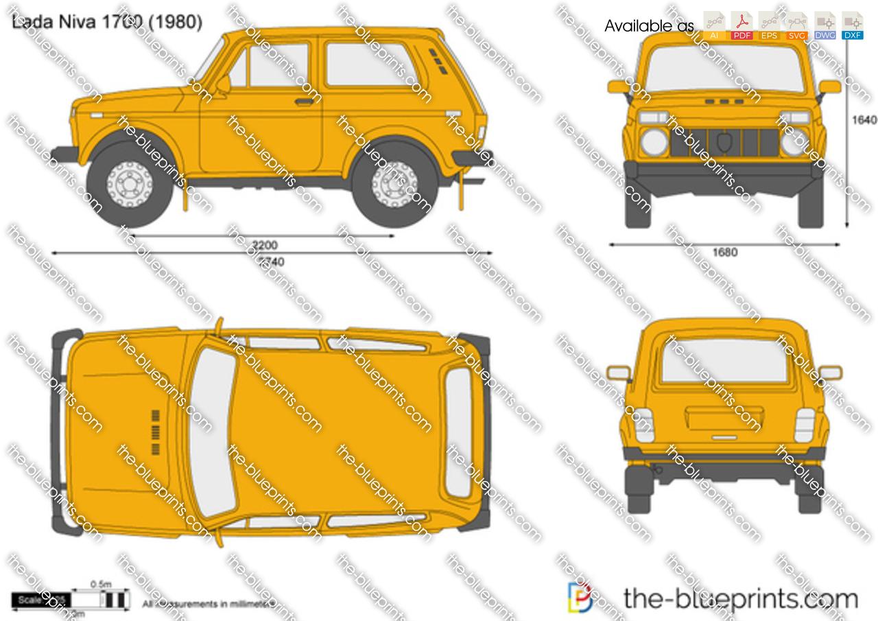 Lada Niva 1700 1995