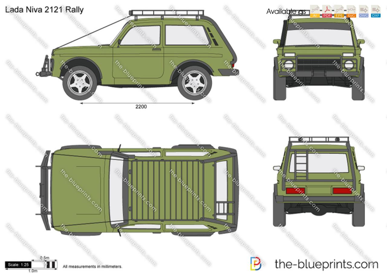 Lada Niva 2121 Rally