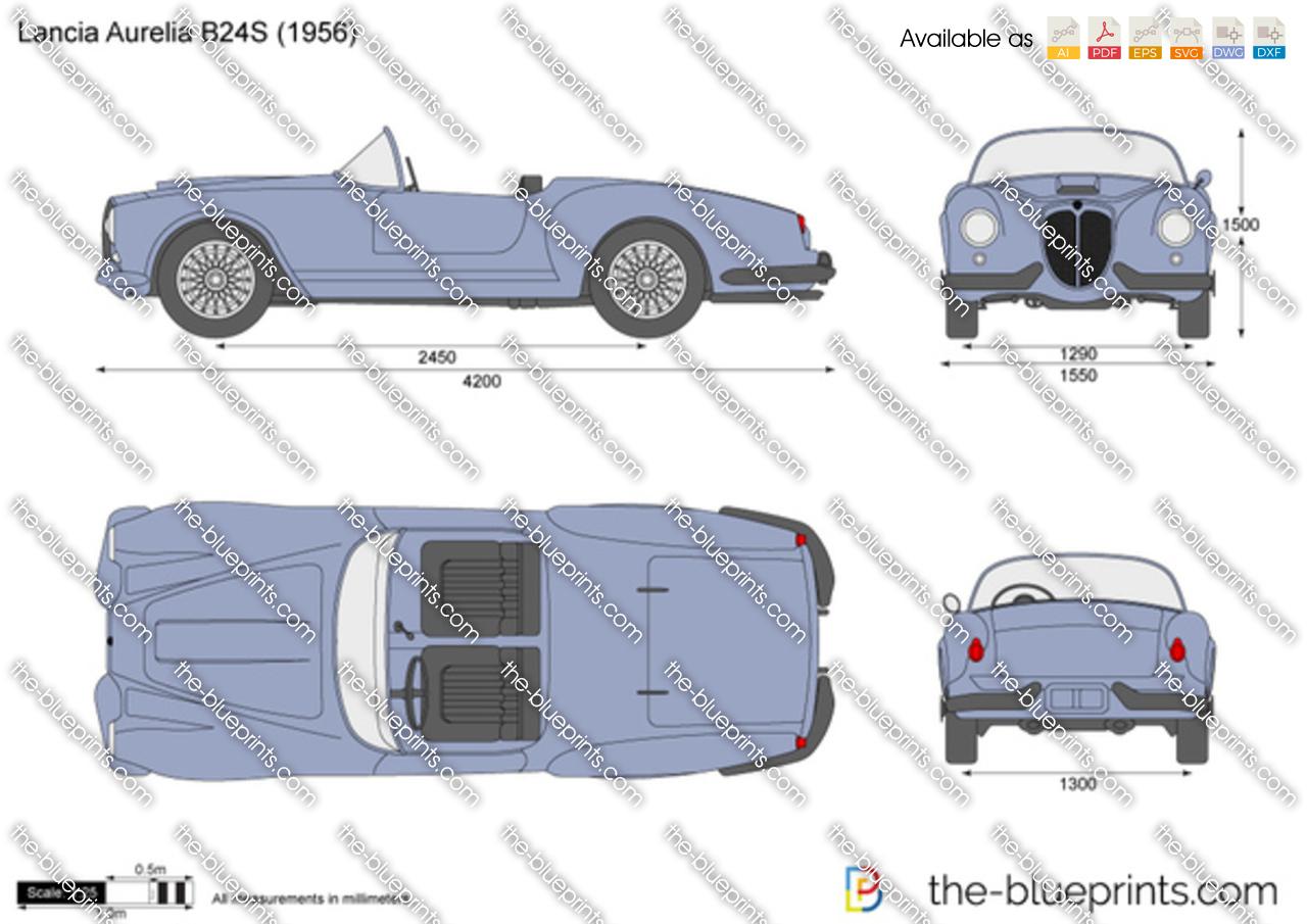 Lancia Aurelia B24S 1954