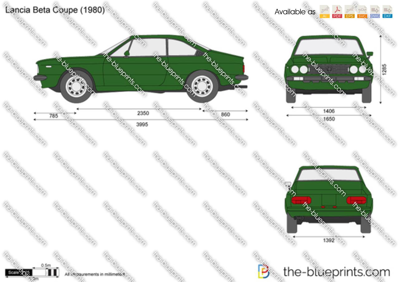 Lancia Beta Coupe 1983