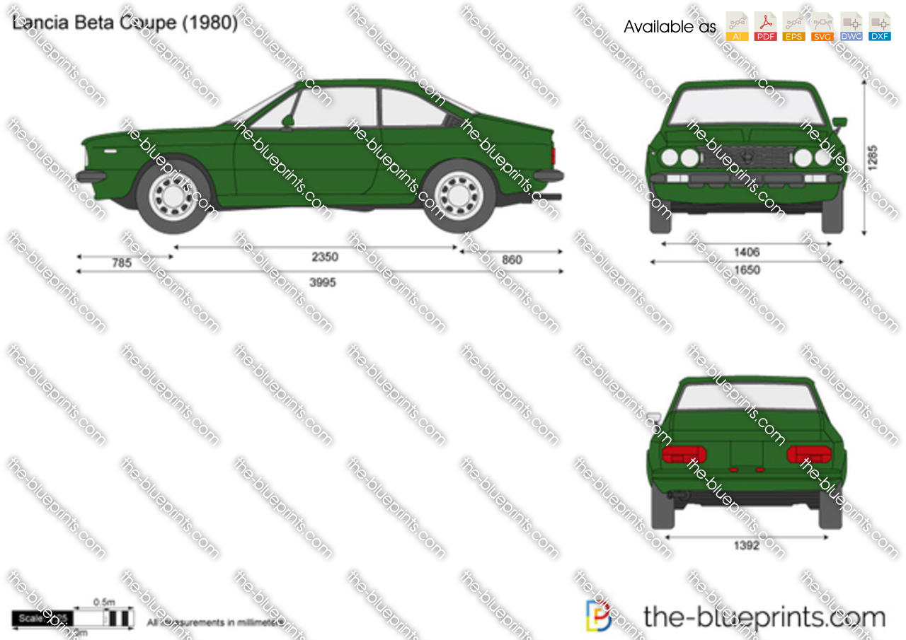 Lancia Beta Coupe 1984