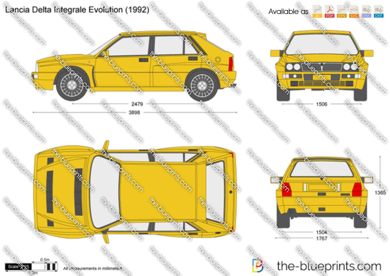 Lancia Delta Integrale Evolution 1991