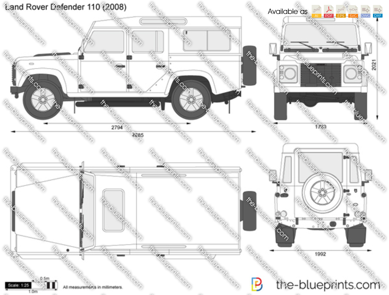 Land Rover Defender 110 1990