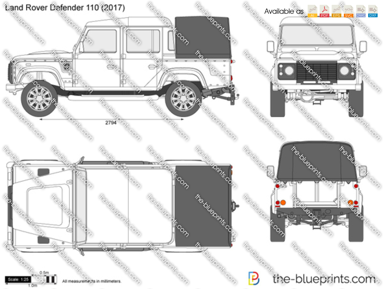Land Rover Defender 110 2018