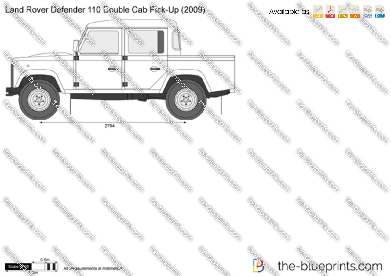 Land Rover Defender 110 Double Cab Pick-Up 1990