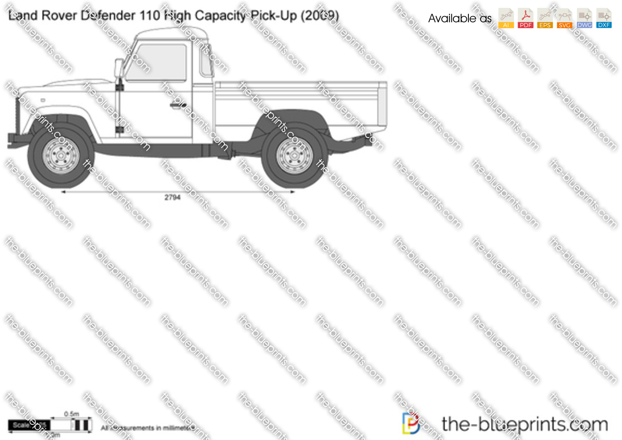 Land Rover Defender 110 High Capacity Pick-Up 2004