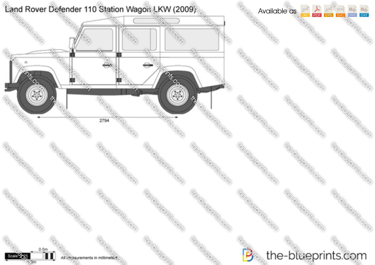 Land Rover Defender 110 Station Wagon LKW 2012