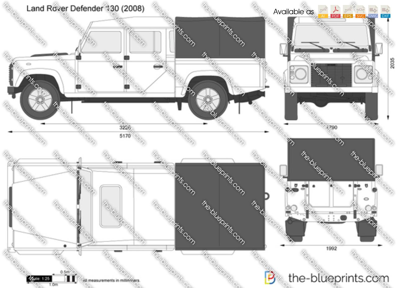 Land Rover Defender 130 1990