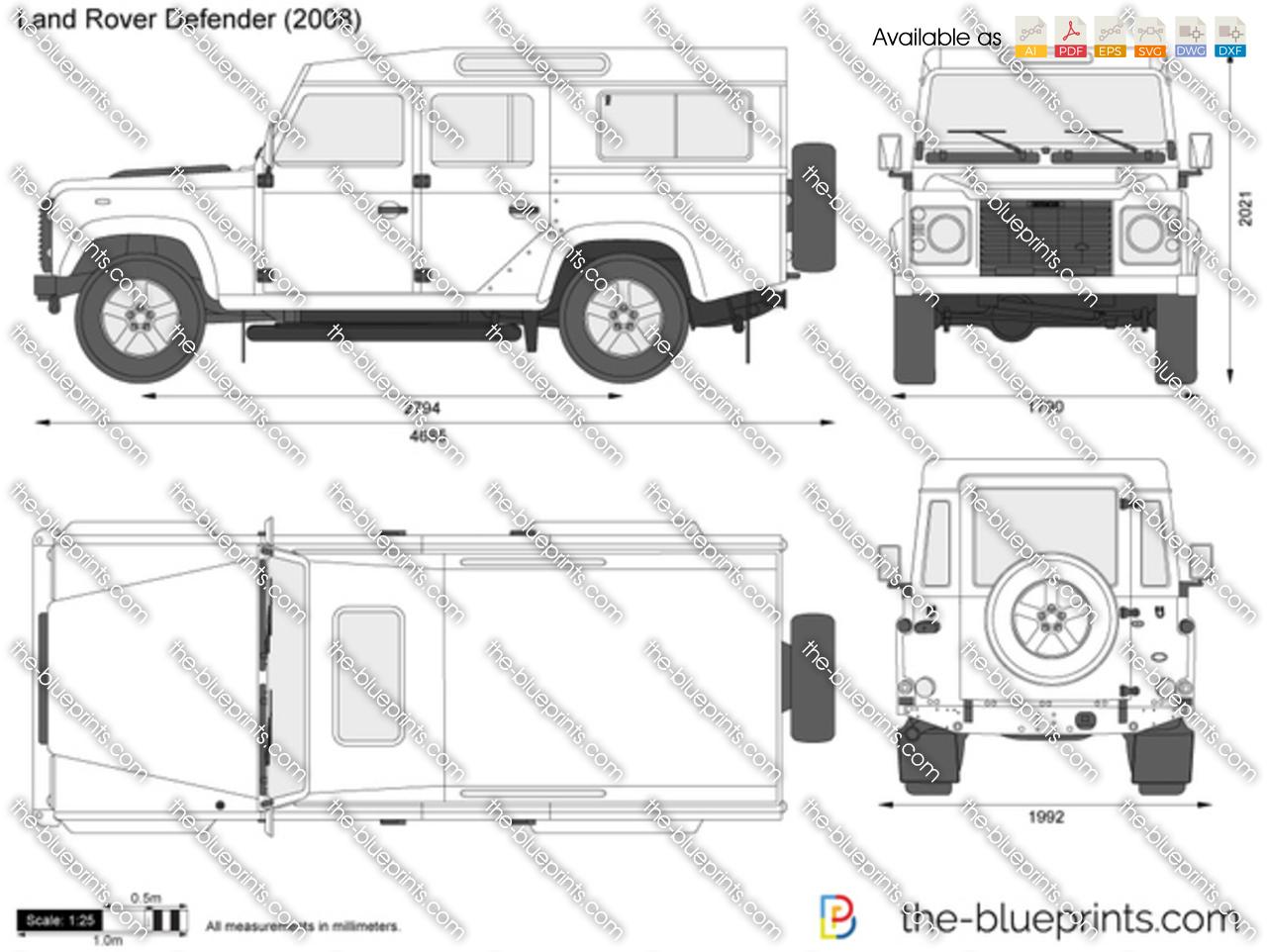 Land Rover Defender 1996