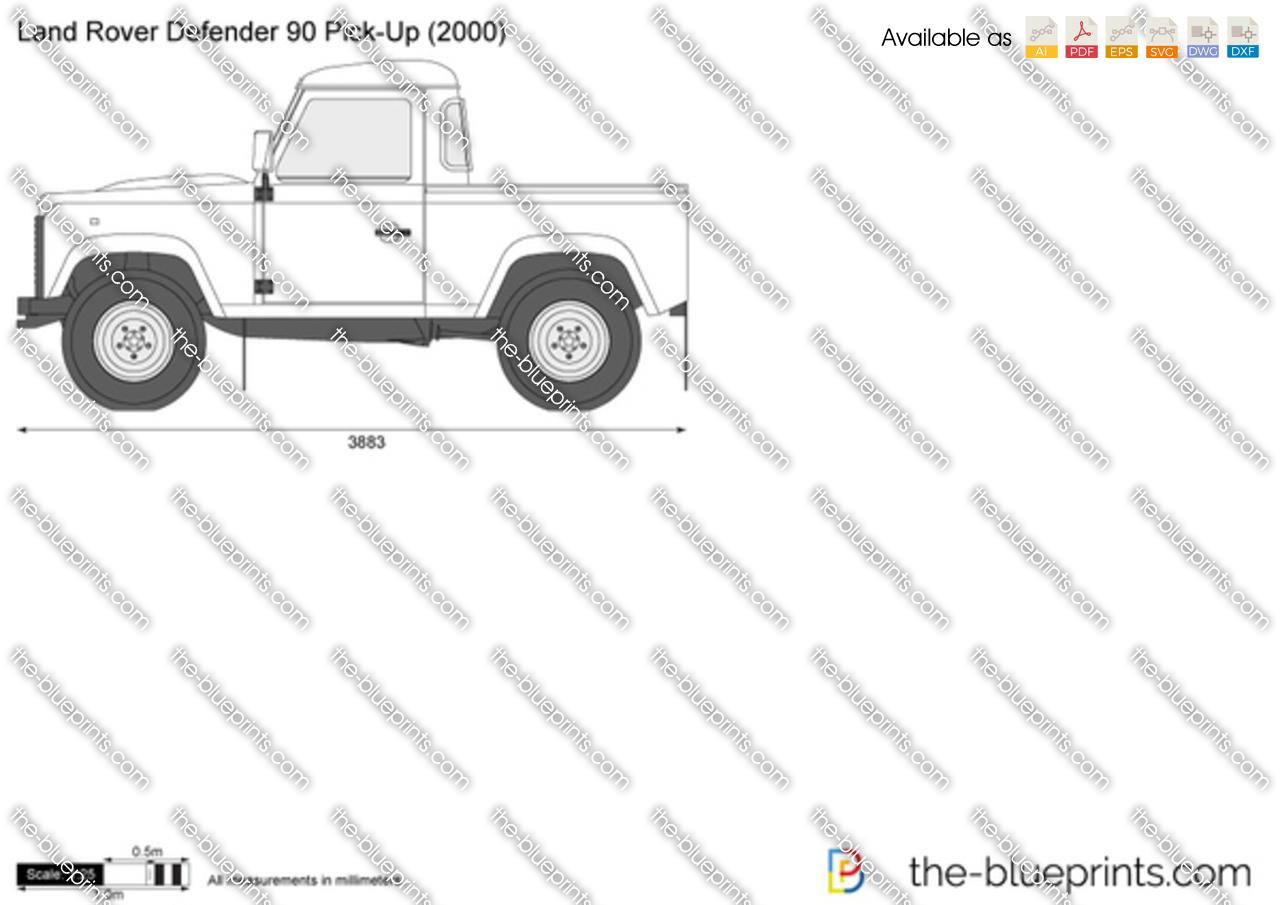 Land Rover Defender 90 Pick-Up