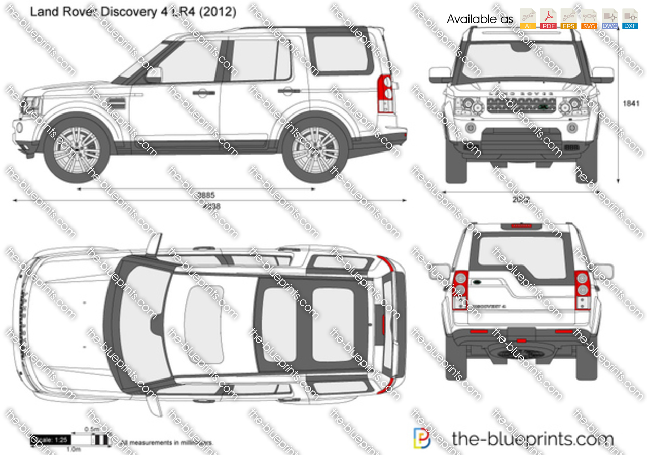 Land Rover Discovery 4 LR4 2012