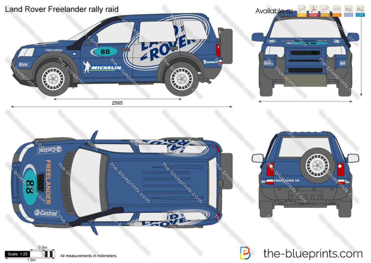 Land Rover Freelander rally raid