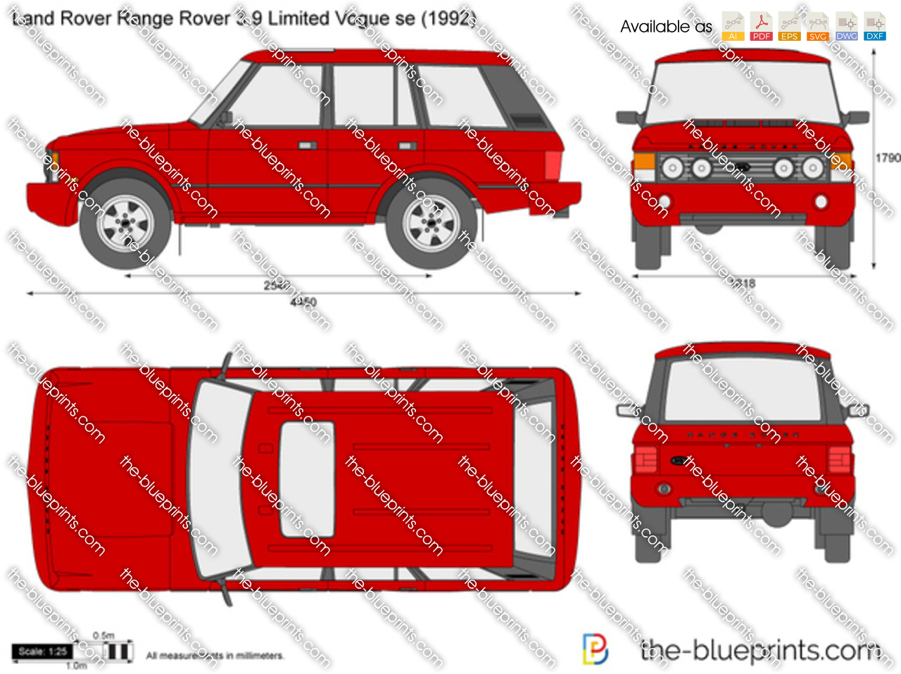 Land Rover Range Rover 3.9 Limited Vogue se