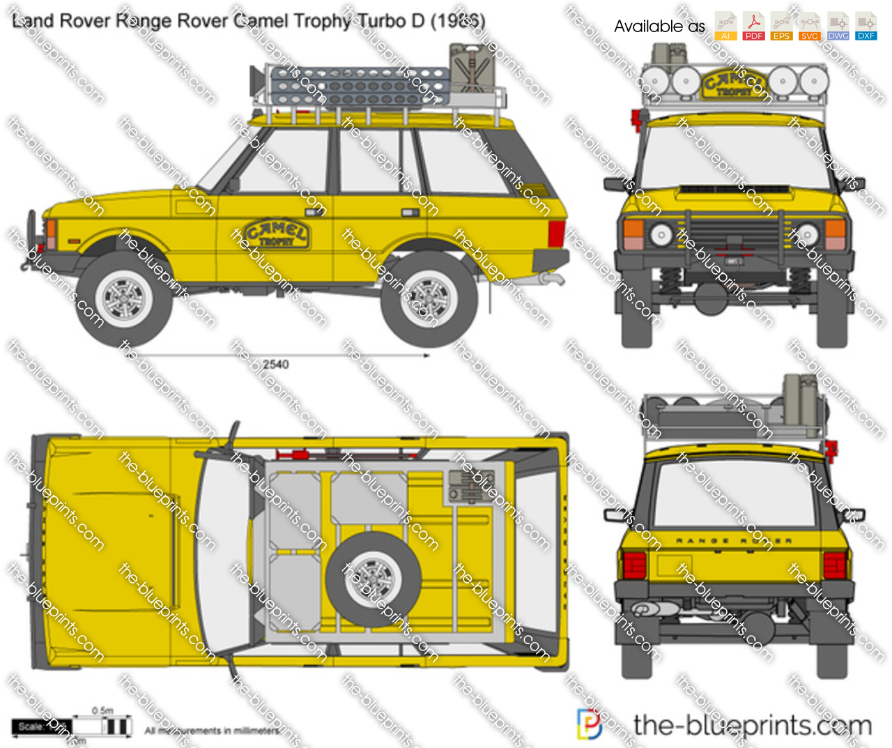Land Rover Range Rover Camel Trophy Turbo D