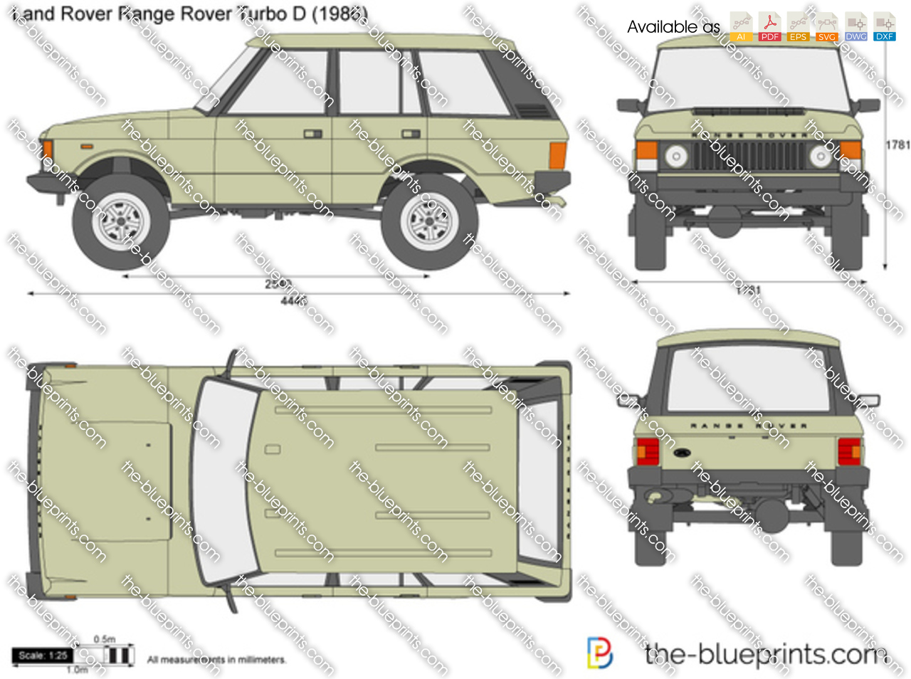 Land Rover Range Rover Turbo D