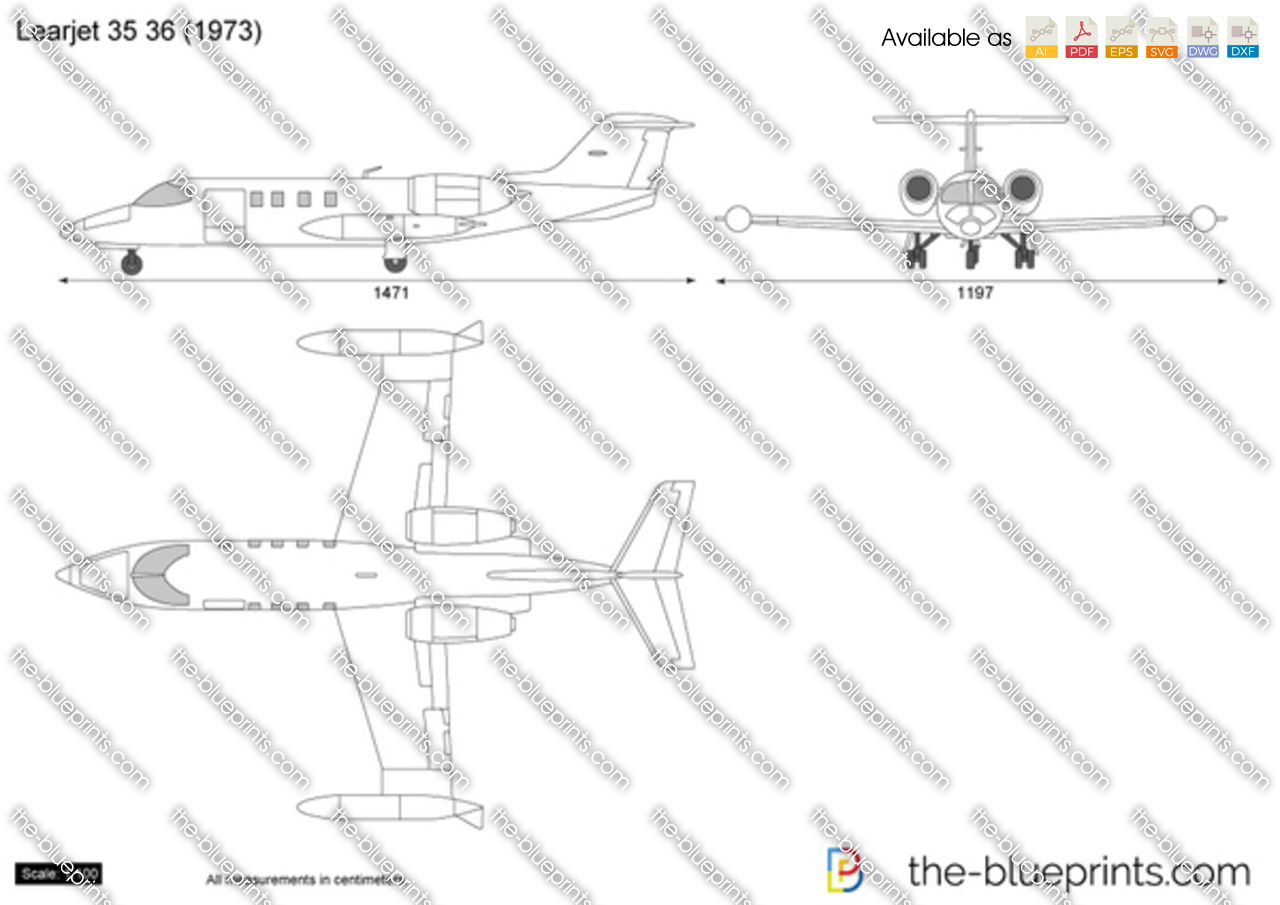 Learjet 35 36