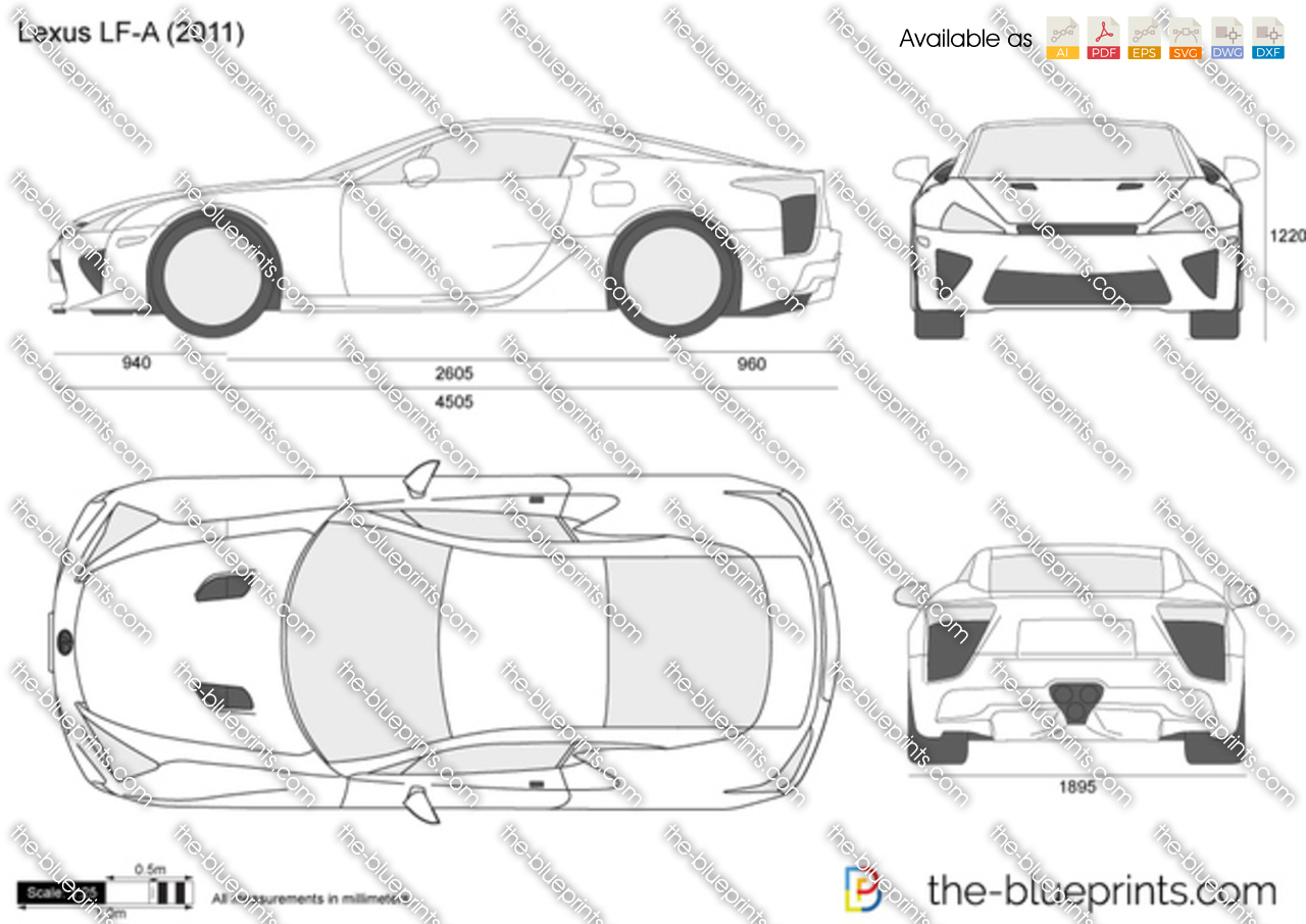 Lexus LF-A 2012