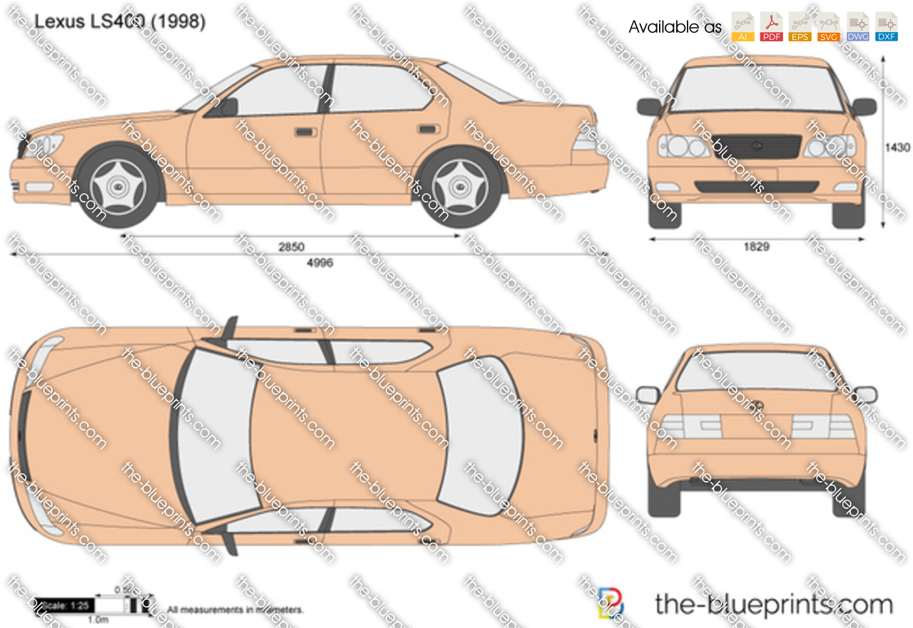 Lexus LS400 2001