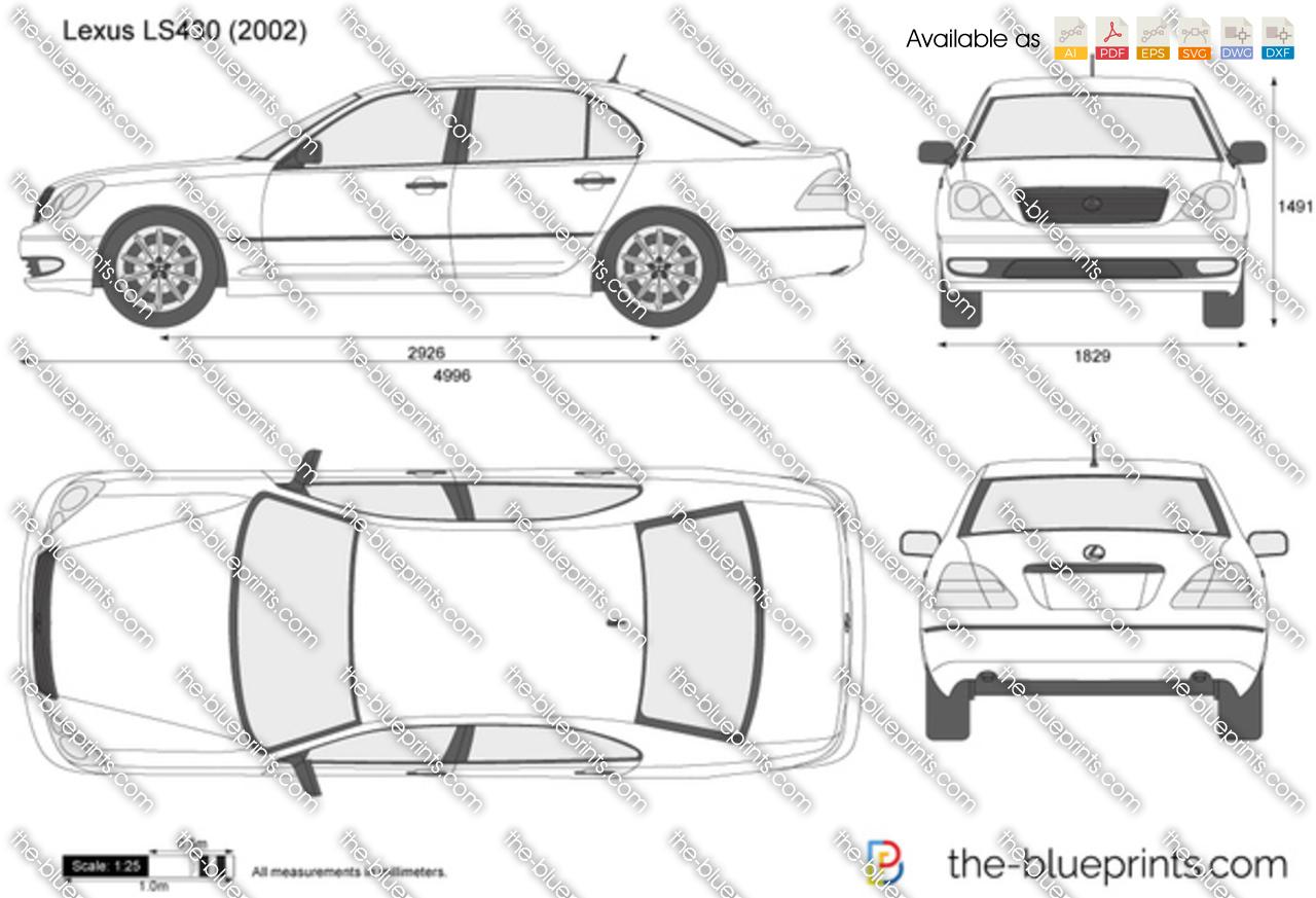 Lexus LS430 2005